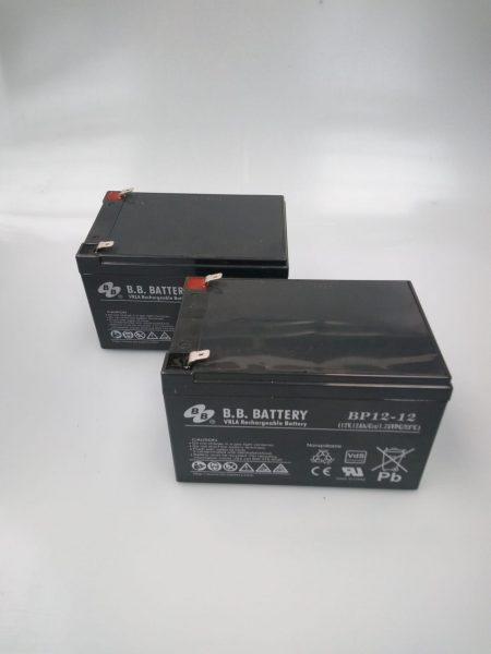 Robomow Akku RM Bleigel Hochleistungsakku (2 Stück) BAT5001A-2X (alt MRK5001A)