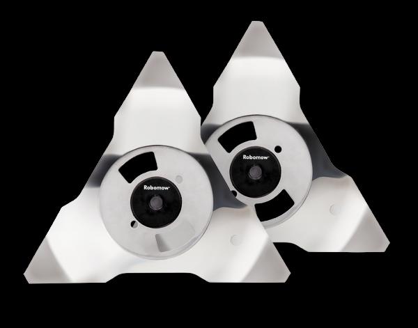 Orginal Robomow Ersatzmesser 2er Pack aus Edelstahl für RS/TS/MS. MRK6101A