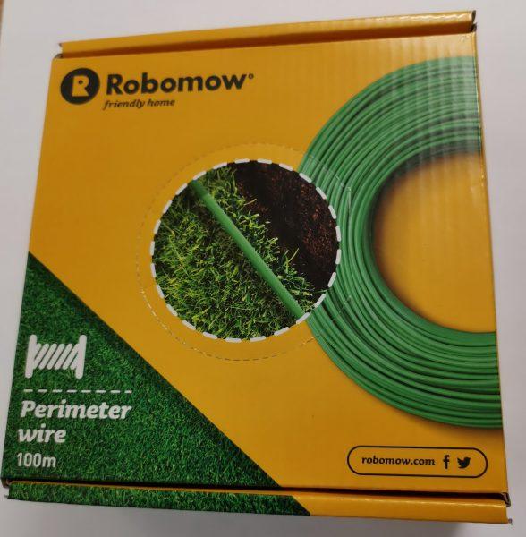 Robomow ORIGINAL Begrenzungsdraht Ersatzrolle grün 100 Meter Kabel MRK0040A