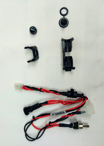 Robomow RS Kabelbaum Sicherung / Batterie SPP6105A - Gebraucht